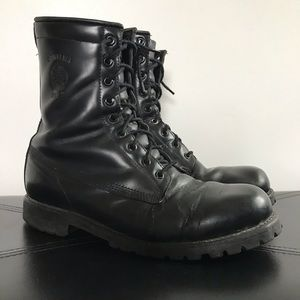 Chippewa Combat Military High Gloss Boots 9